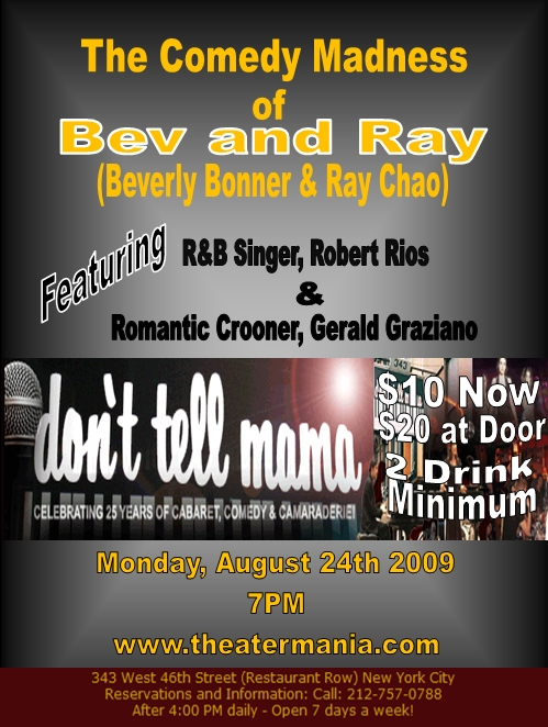 FLYER FOR BEV AND RAY AUGUST SHOW[1]