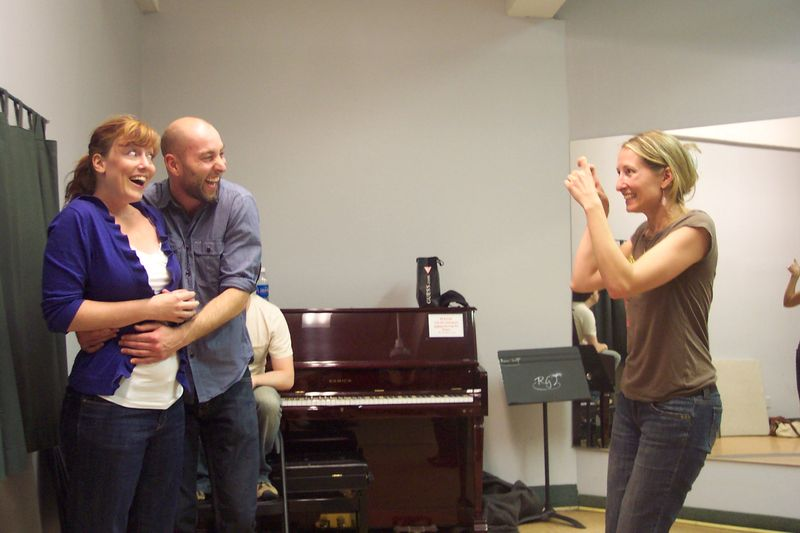 Mandi Matt Shea rehearsal
