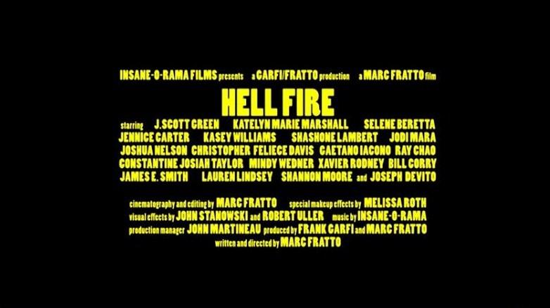 Hellfire cast