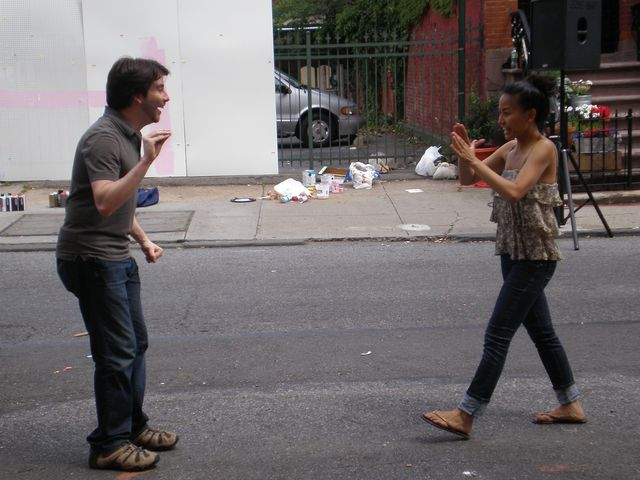 Improv show at the Brooklyn Arts Walk